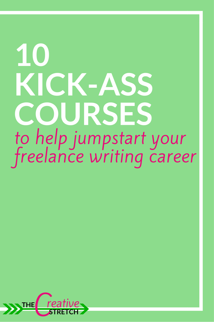 If you'd like to jump into freelance writing but are too scared or are looking for better pay and better gigs, then I suggest you take a look at these courses and master classes and be guided by the best in the field. >> thecreativestretch.com