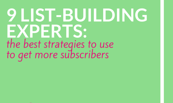 9 List-Building Experts: Best Strategies to Use to Get More Subscribers | The Creative Stretch