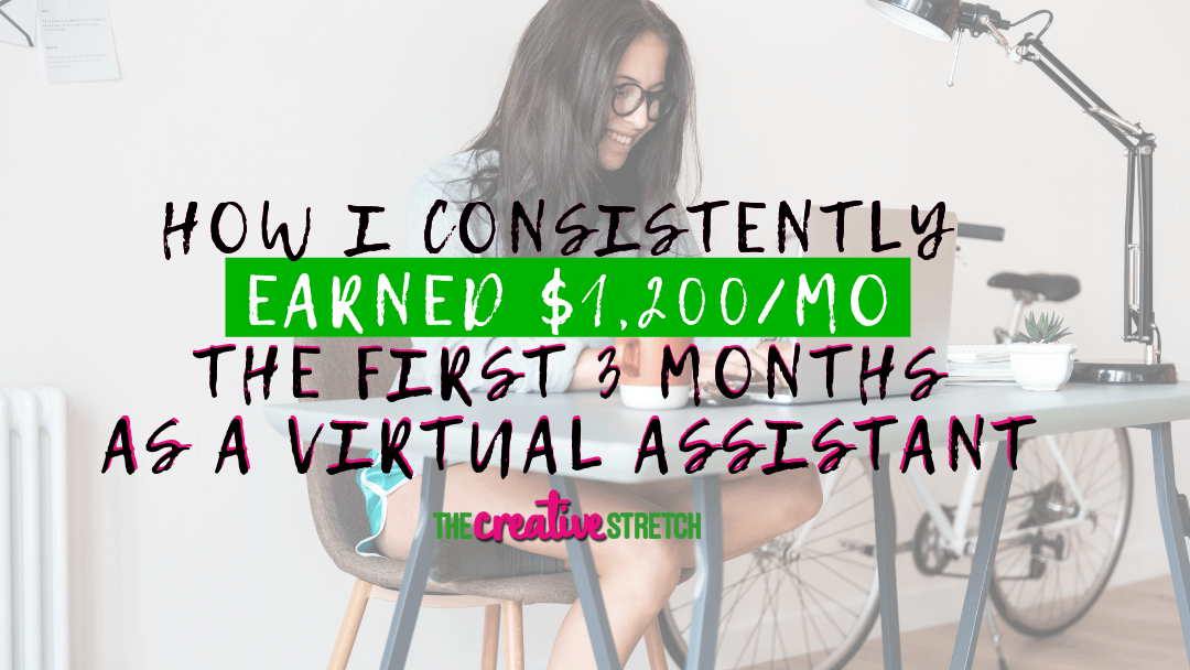 How I Consistently Earned More than $1,200 During the First Three Months of My Service-Based Business