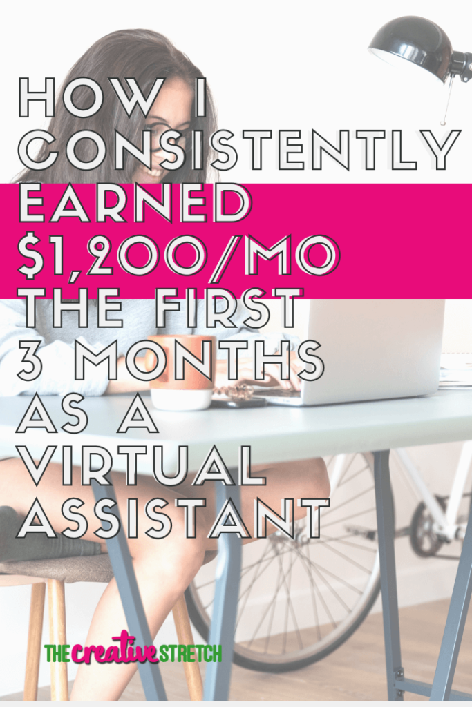 How I Consistently Earned More than $1,200 During the First Three Months of My Service-Based Business | The Creative Stretch
