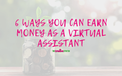 6 Ways You Can Earn Money As A Virtual Assistant
